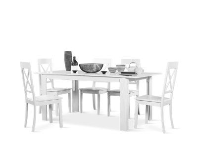 Aspen Dining Table and Kendal Chairs