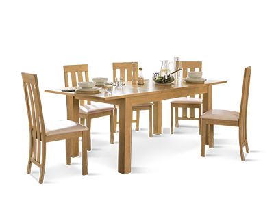 Hamilton Table and Chester Chairs Dining Set