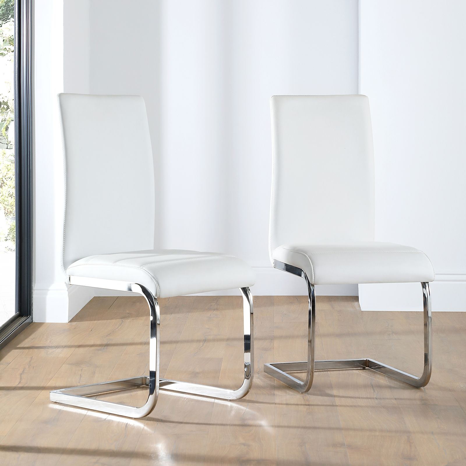 Fabulous Perth Leather Dining Chair White Caraccident5 Cool Chair Designs And Ideas Caraccident5Info