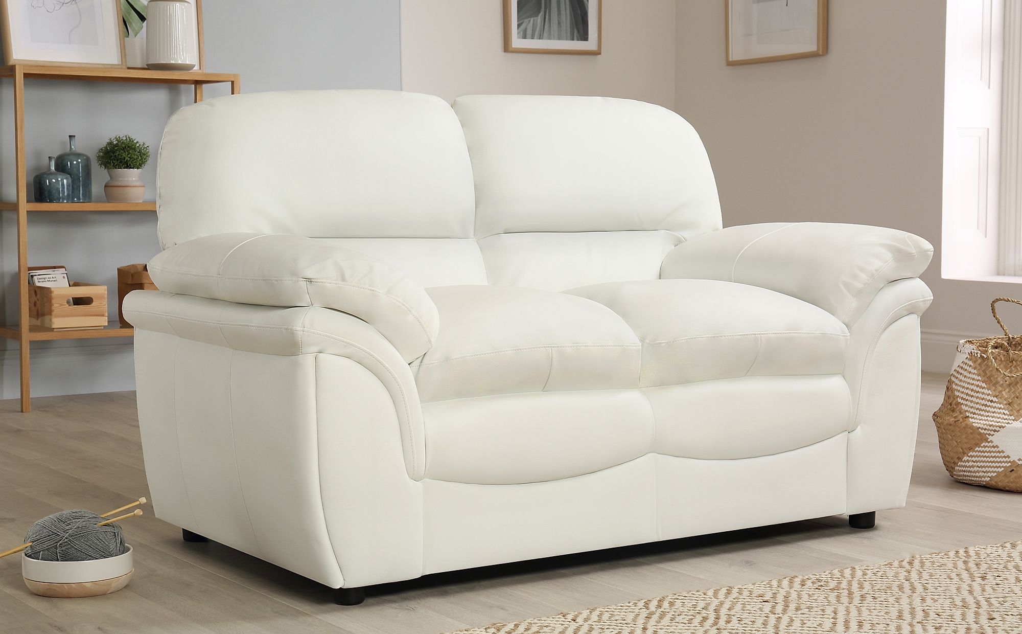 rochester ivory leather 2 seater sofa only 399 99 furniture choice rh furniturechoice co uk ivory leather sofas uk ivory leather sofa repair kit