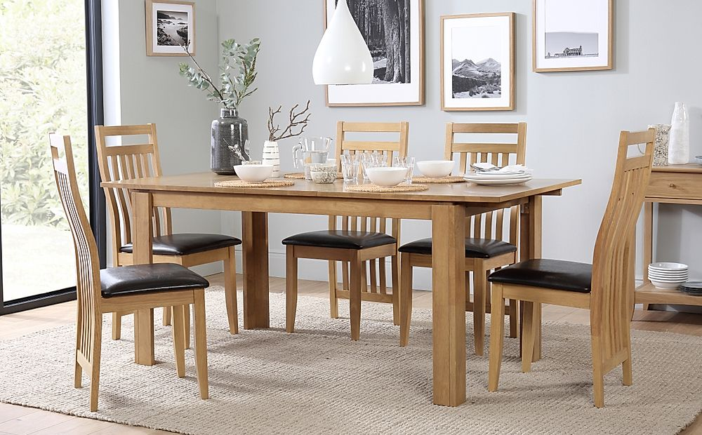 Bali Extending Dining Table and 6 Chairs Set