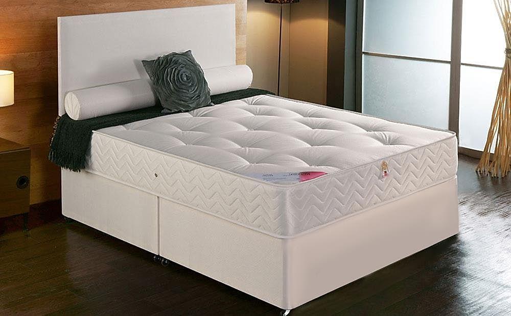 Vogue Delia Double 4 Drawer Divan Bed