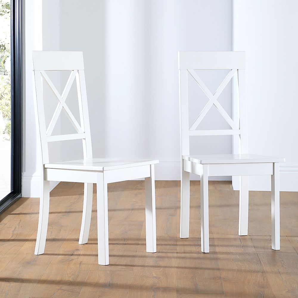 Kendal White Dining Chair