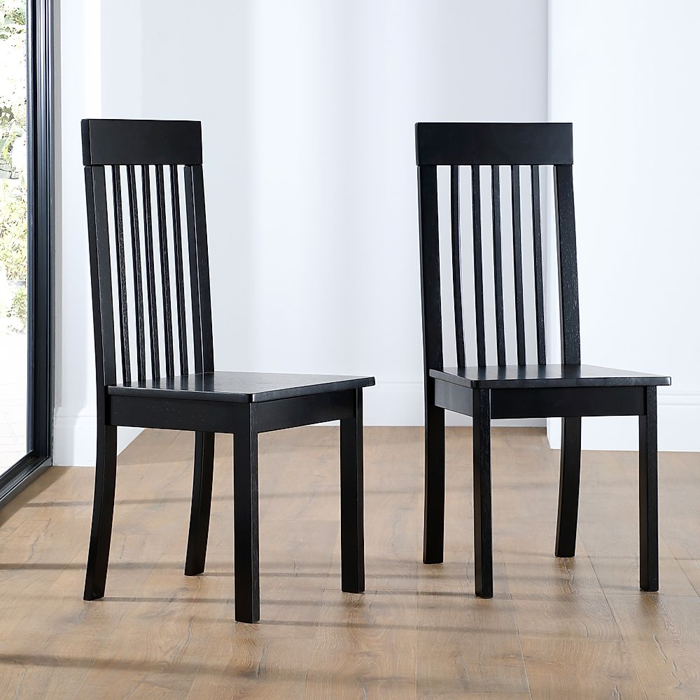 Oxford Painted Black Dining Chair