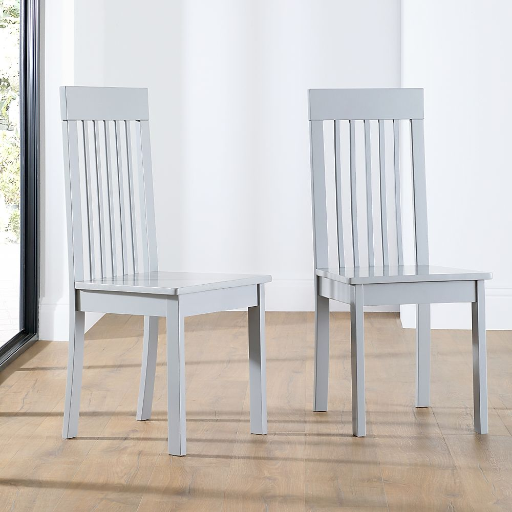 Oxford Painted Grey Dining Chair