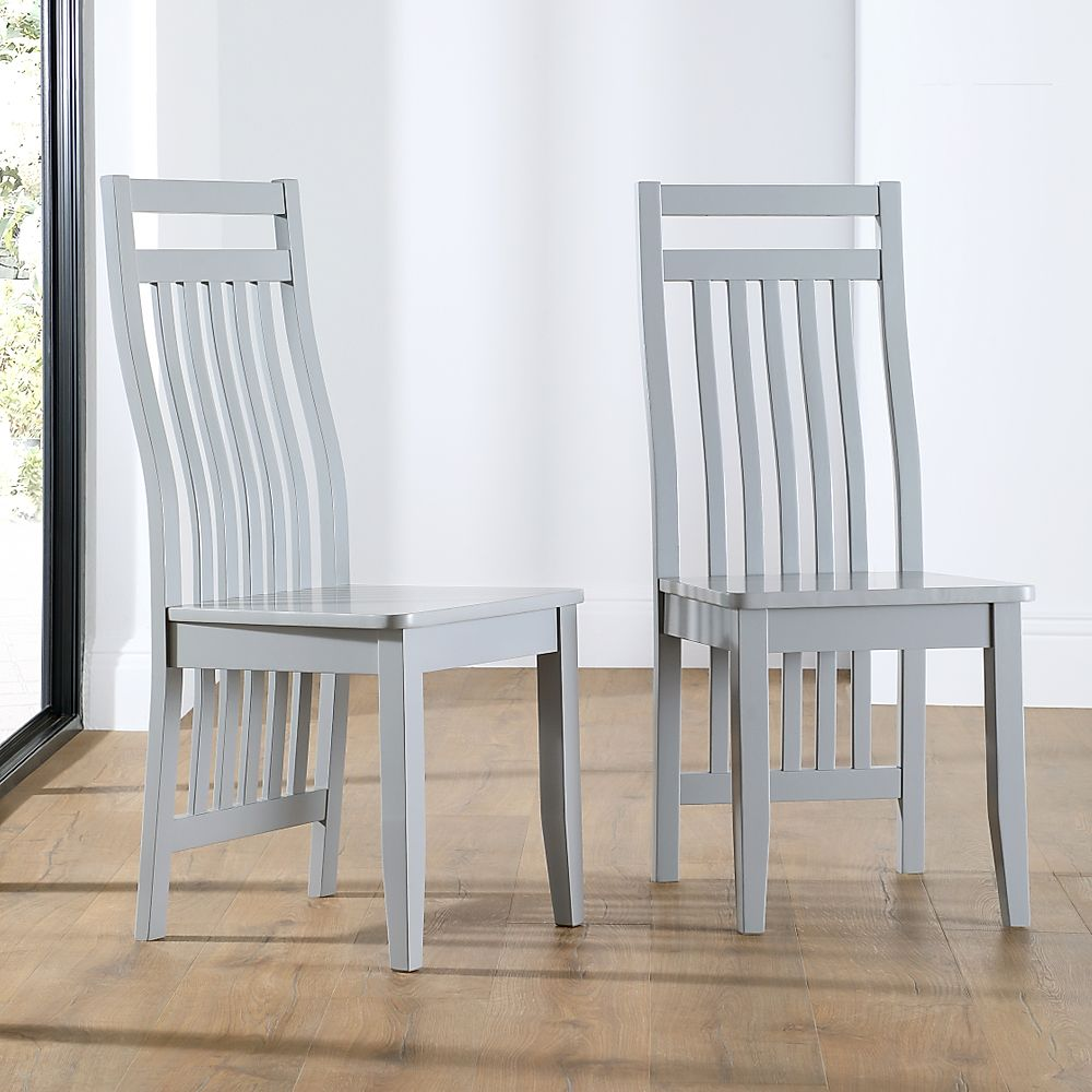Java Painted Grey Dining Chair