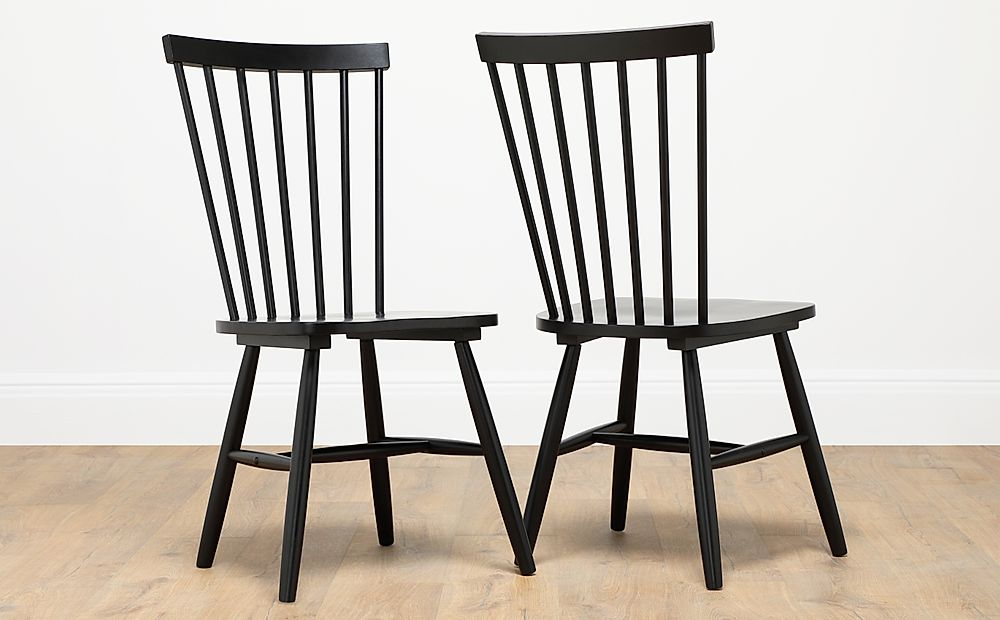 Pendle Painted Black Dining Chair
