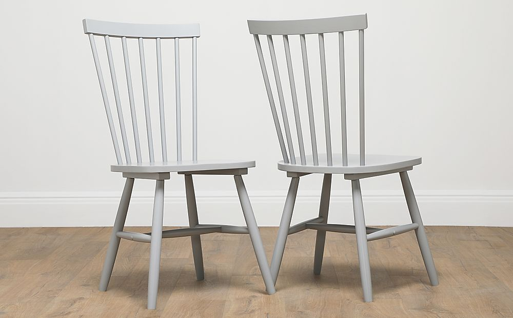 Pendle Painted Grey Dining Chair