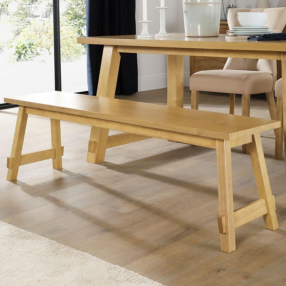 Croft Oak Dining Bench