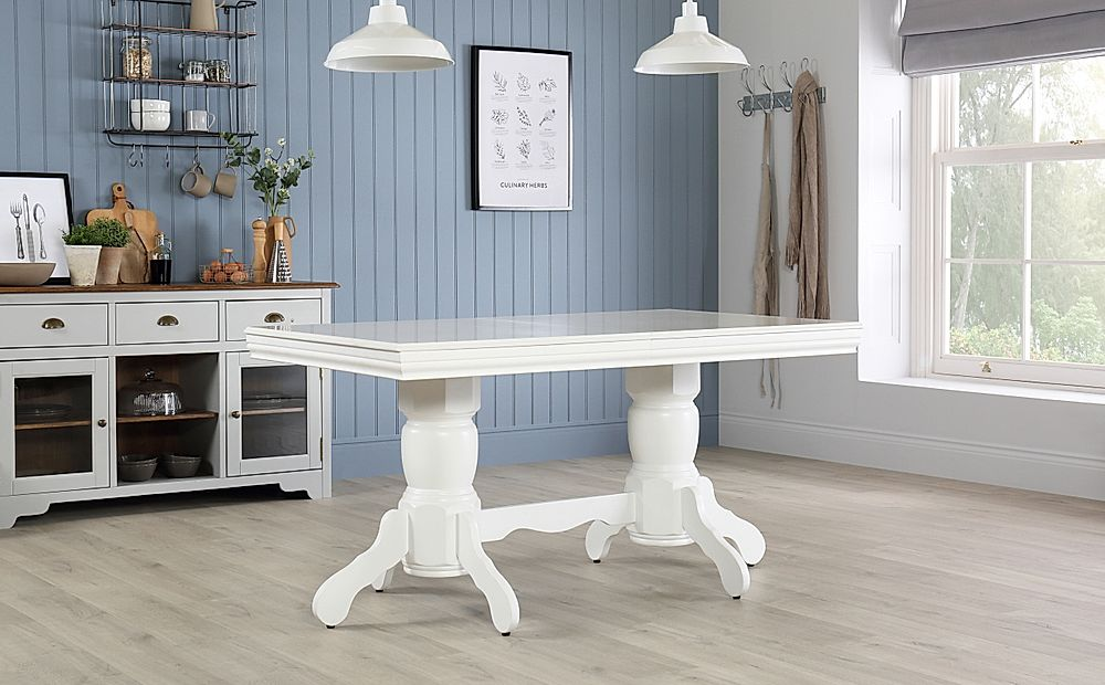 Chatsworth White 150 180cm Extending Dining Table Furniture And Choice