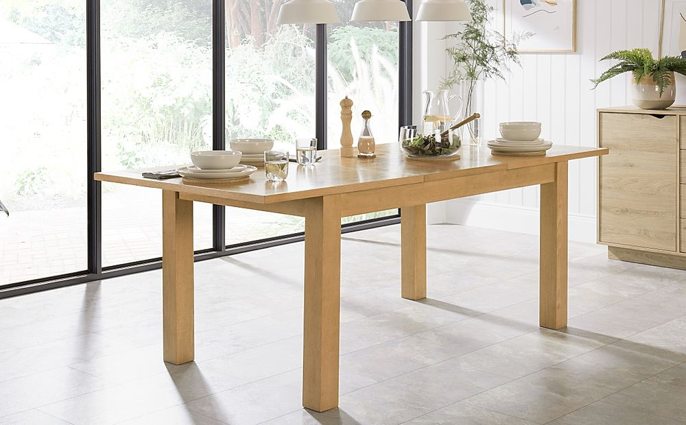 Hamilton Oak Extending Dining Table 150-200cm