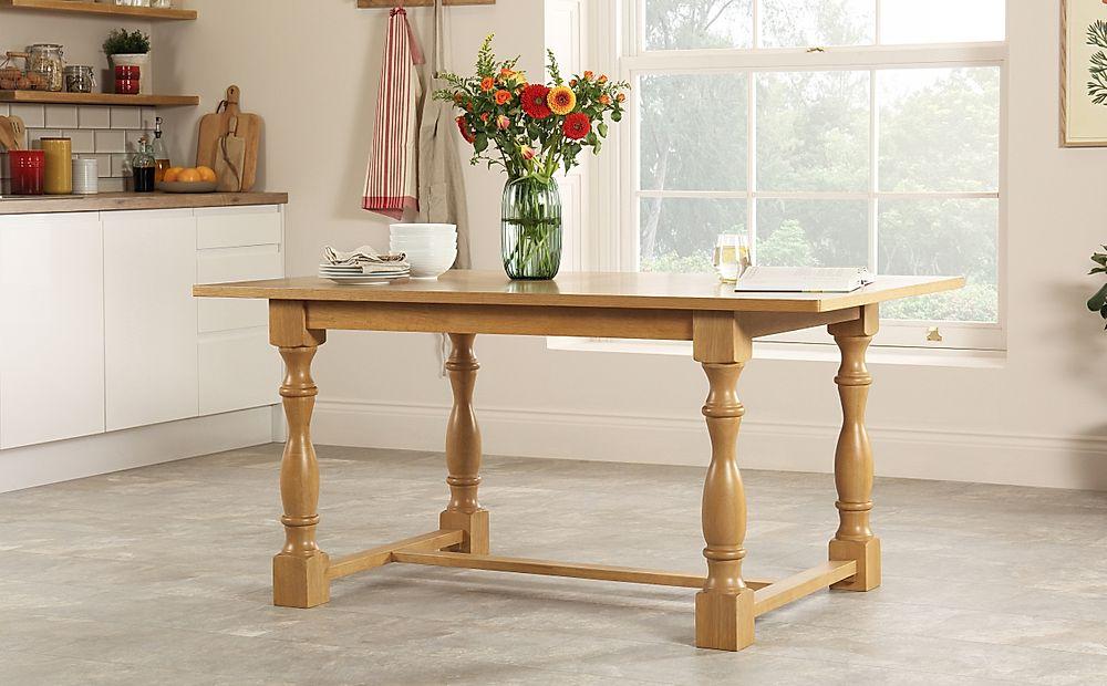 Devonshire Oak Dining Table 160cm
