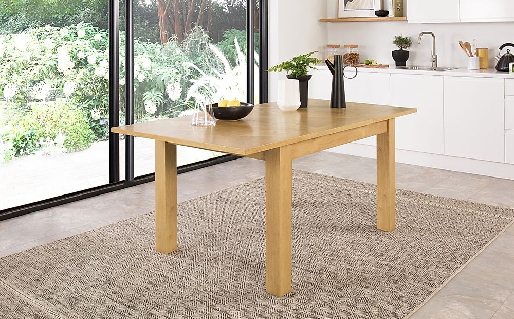 Madison Oak Extending Dining Table 120-170cm