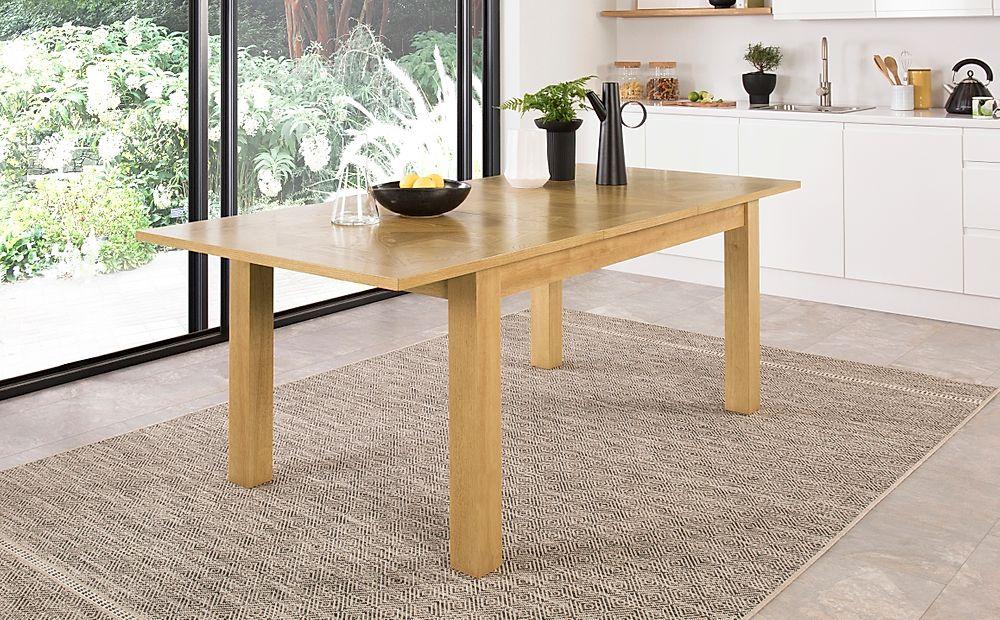 Madison Oak Extending Dining Table 150-200cm