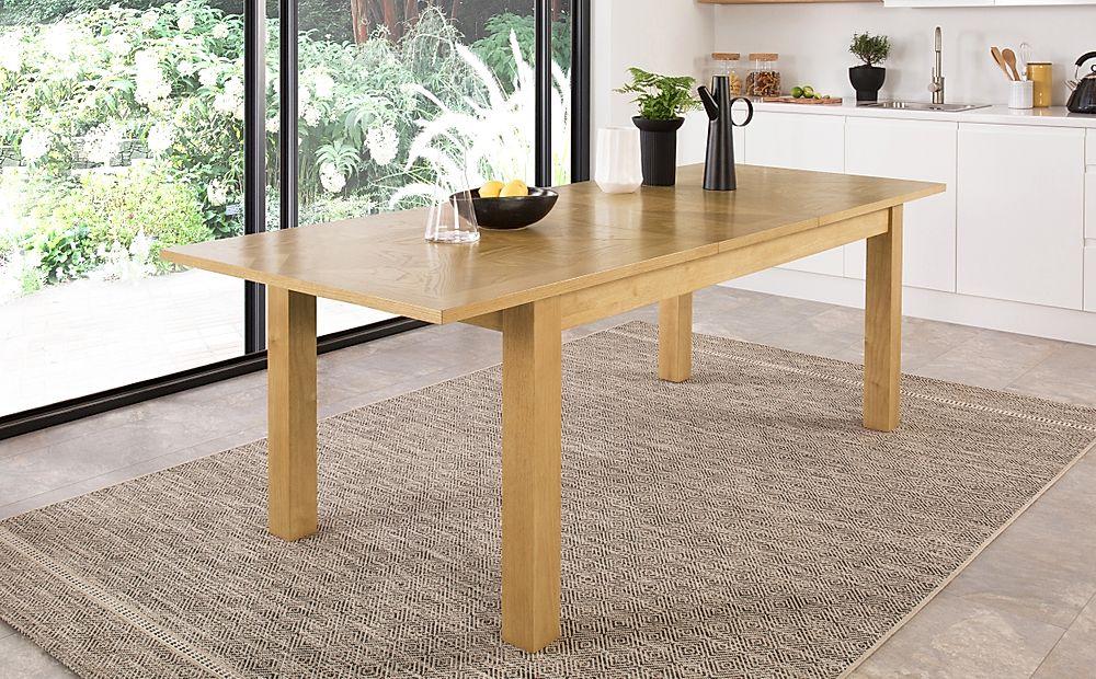 Madison Oak Extending Dining Table 180-230cm