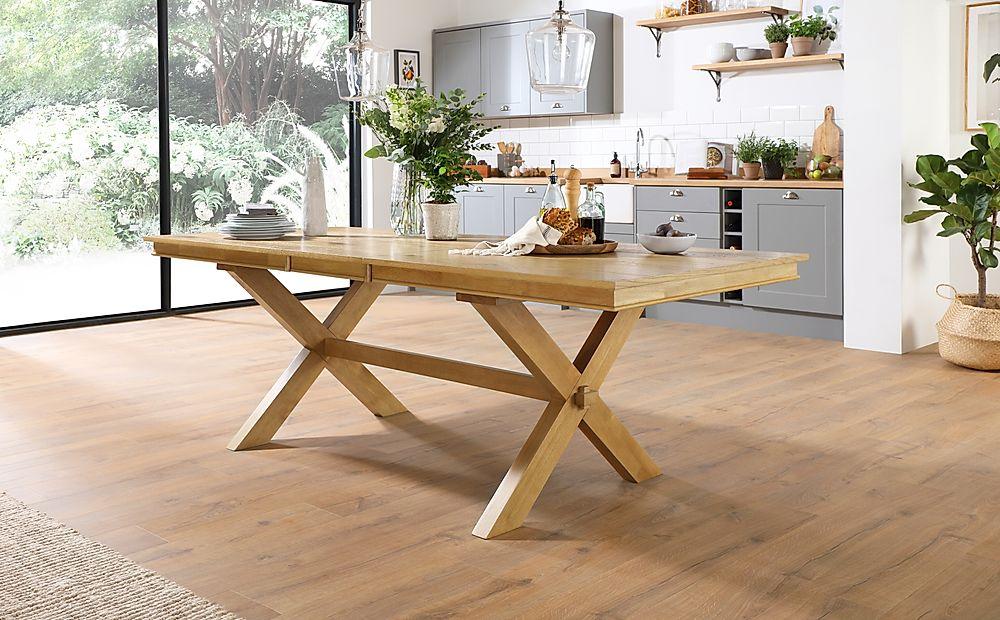 Grange Oak 180-220cm Extending Dining Table