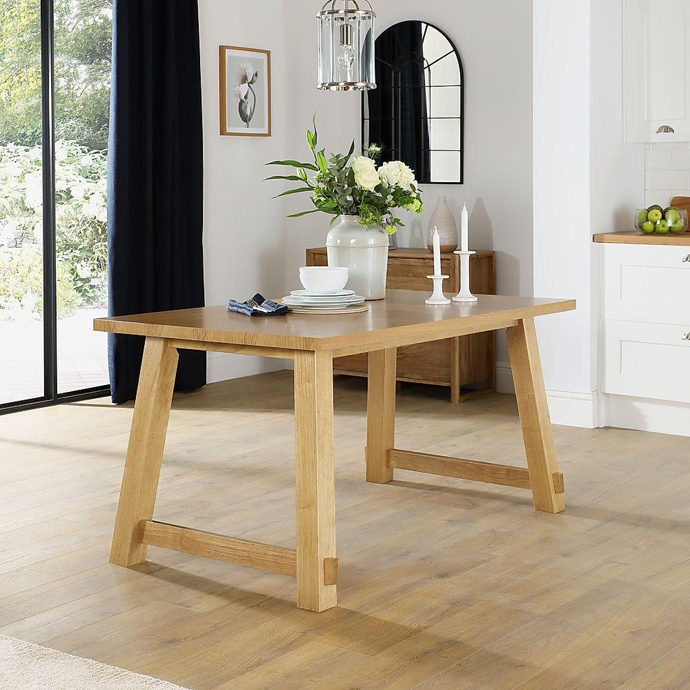 Croft Oak 150cm Dining Table