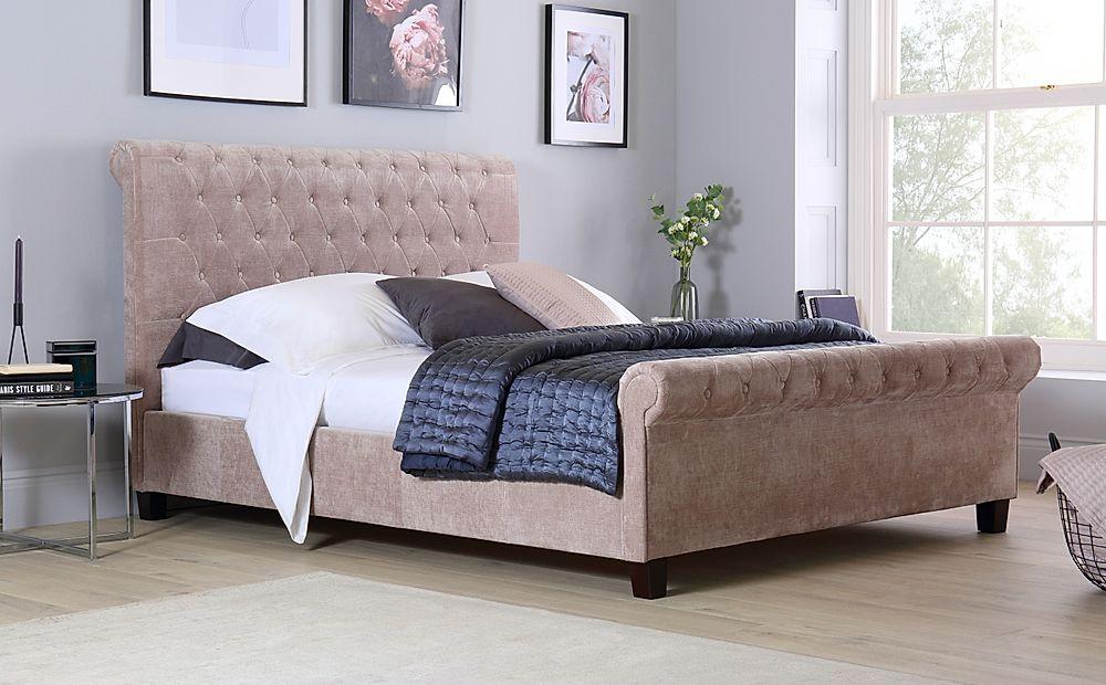 Orbit Mink Velvet Super King Size Bed