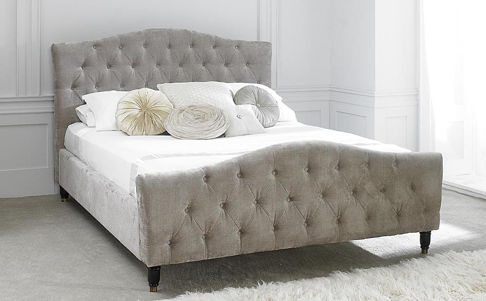 Phobos Mink Fabric Double Bed