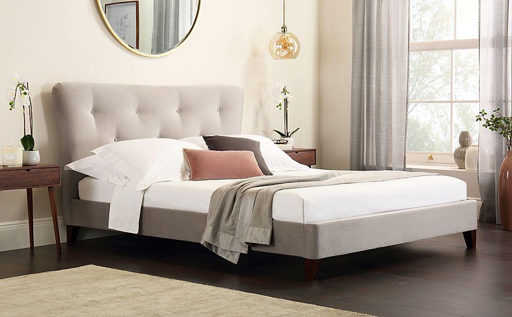 Pemberton Mink Velvet King Size Bed