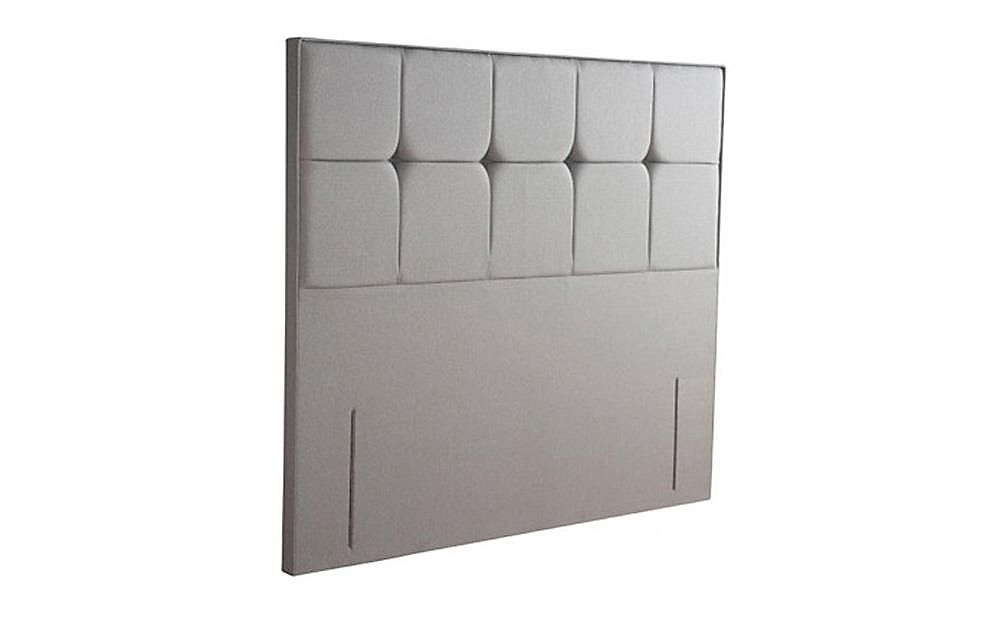 Sealy Lindisfarne Pewter Double Headboard