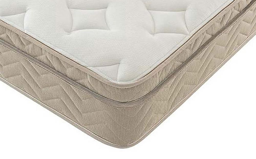 Silentnight Oslo Miracoil Memory Cushion Top Double Mattress