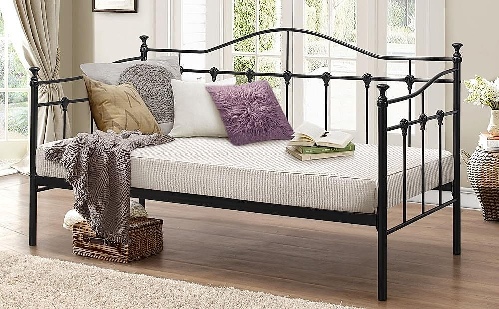 Torino Black Metal Single Daybed