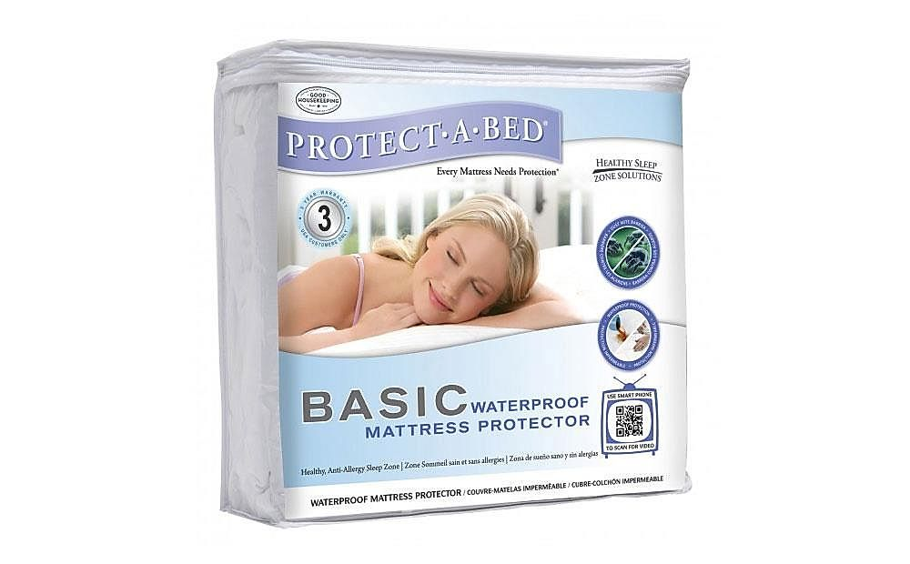 Protect-A-Bed Basic King Size Mattress Protector