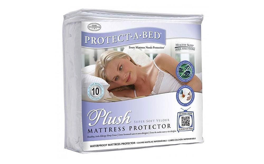 Protect-A-Bed Plush King Size Mattress Protector