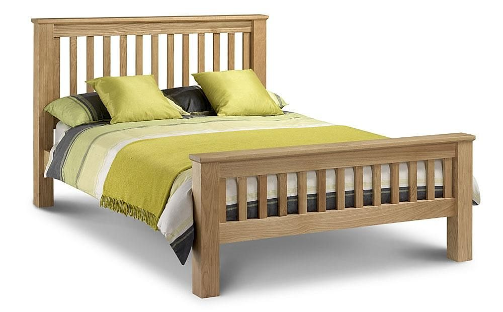 Amsterdam Solid Oak Double Bed