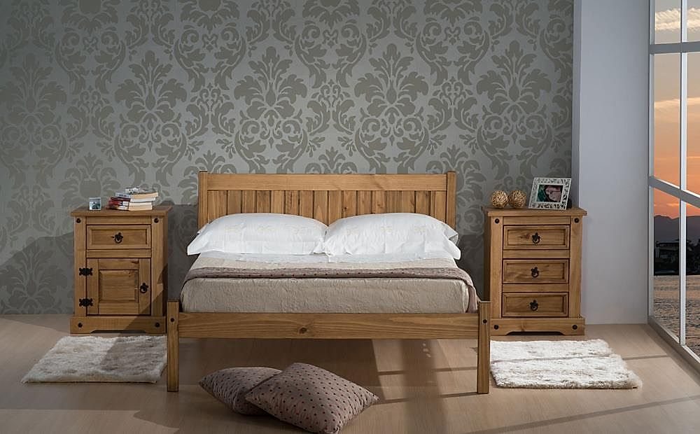 Rio Pine Small Double Bed