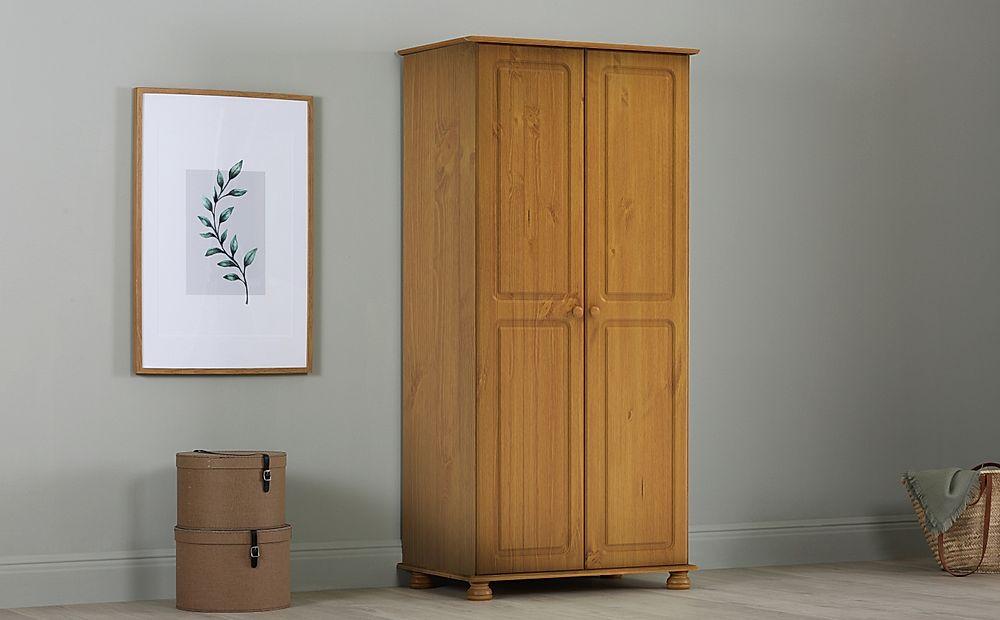 Evesham Pine 2 Door Wardrobe