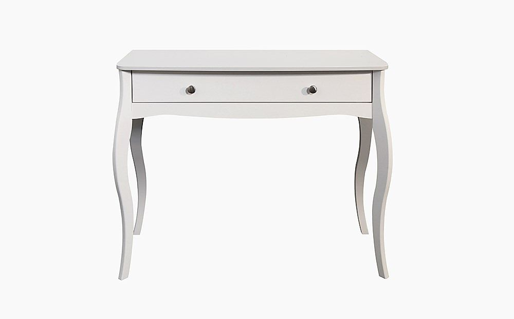 Baroque White Dressing Table