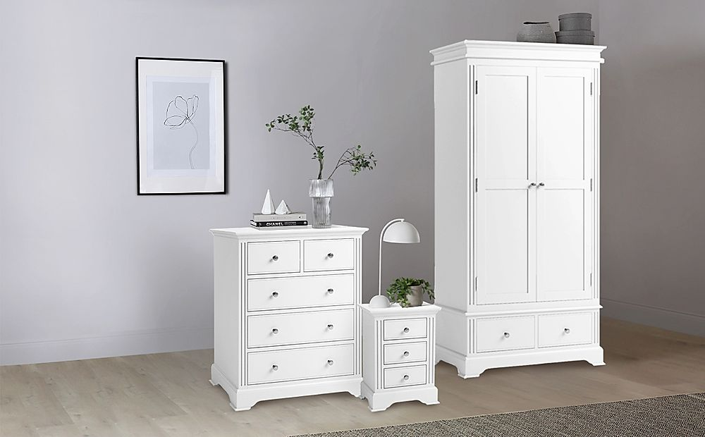 Door Wardrobe Bedroom Furniture Set, White Bedroom Furniture Uk