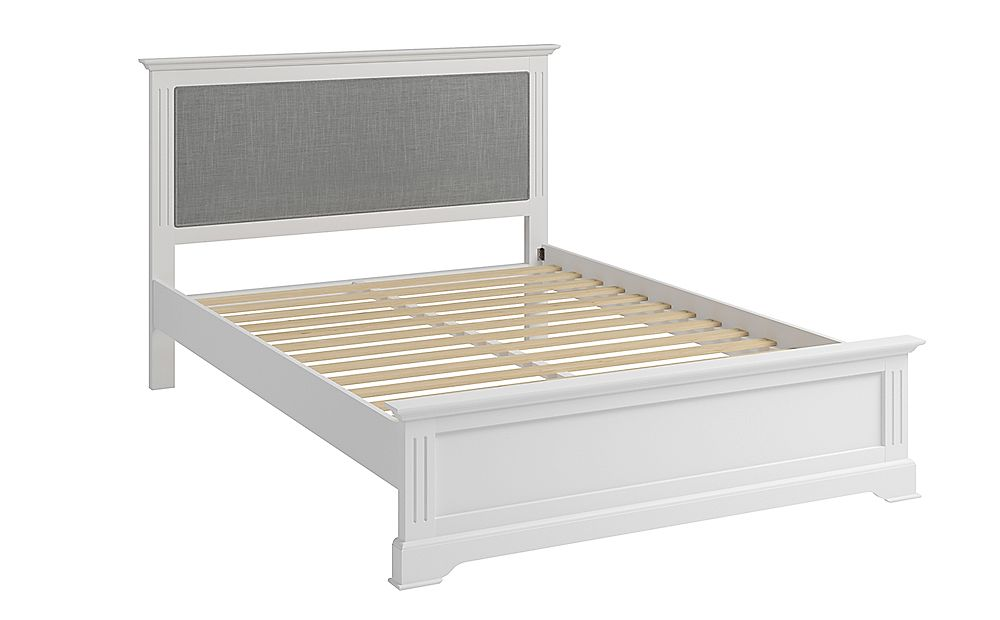 Berkeley Painted White Wooden King Size Bed