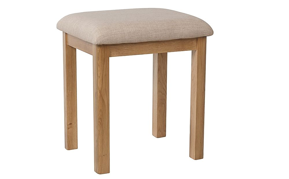 Derwent Oak Dressing Table Stool