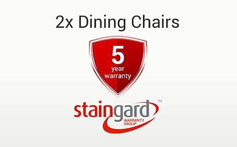 Protection Plus 5 Year Furniture Cover - Pair of Dining Chairs