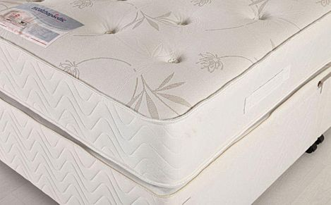 Healthopaedic Total Comfort 1000 Double Memory Foam Mattress - Medium