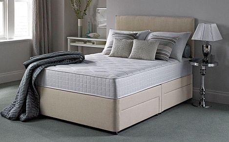 Silentnight Pocket Essentials 1000 Mirapocket Single 2 Drawer Divan Bed