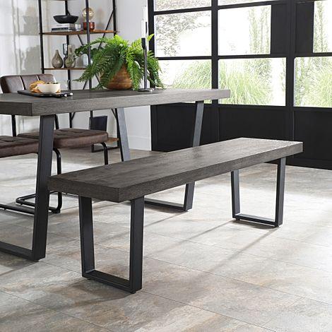 Addison Grey Wood Dining Bench