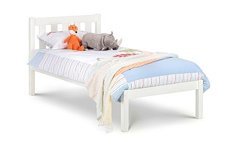 Willow White Bed Single