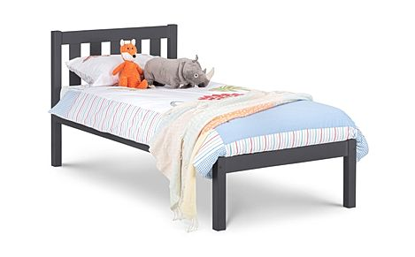 Willow Dark Grey Bed Single