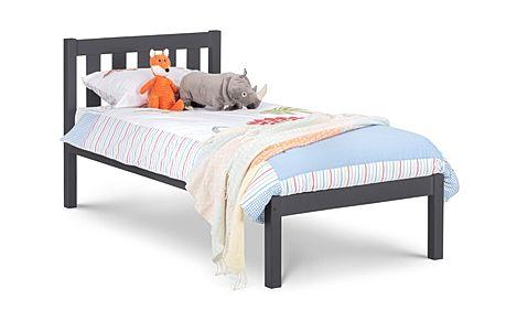 Willow Dark Grey Bed Single