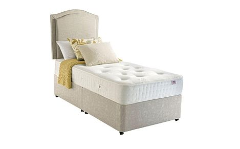 Rest Assured Harewood 800 Memory Foam 2 Drawer Single Divan Bed