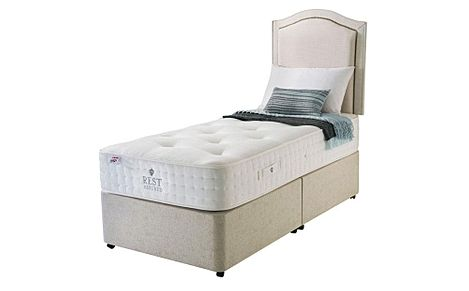 Rest Assured Rufford 2000 Memory Foam 2 Drawer Single Divan Bed