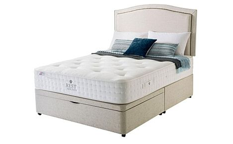 Rest Assured Rufford 2000 Memory Foam Ottoman Double Divan Bed