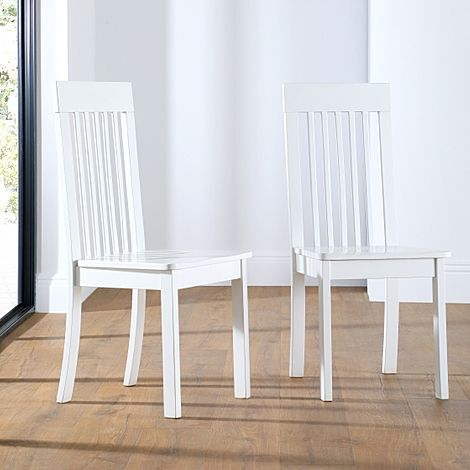 Oxford White Dining Chair