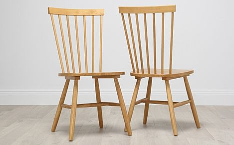 Pendle Dining Chair Oak