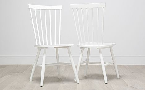 Pendle White Dining Chair