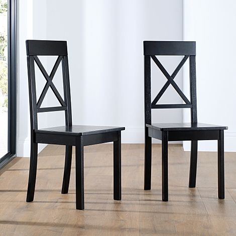 Kendal Painted Black Dining Chair